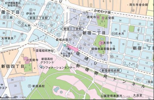 086四ツ谷内藤新宿B