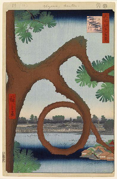 第89景上野山内月のまつ