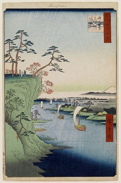 第95鴻の台とね川風景