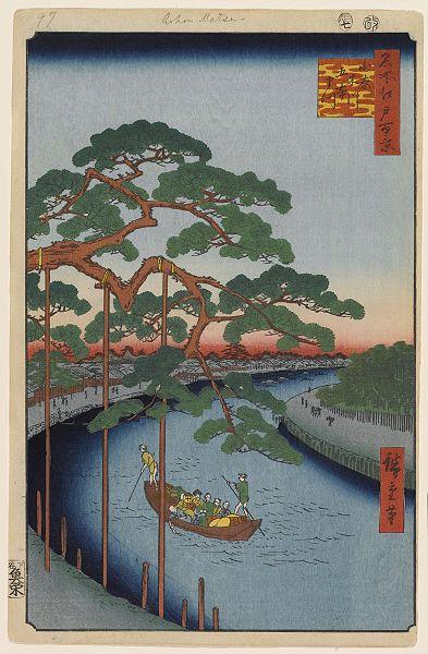 第97景小奈木川五本まつ