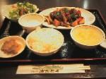 中国黒酢風スブタセット (中国料理 揚州厨房 厚木店)