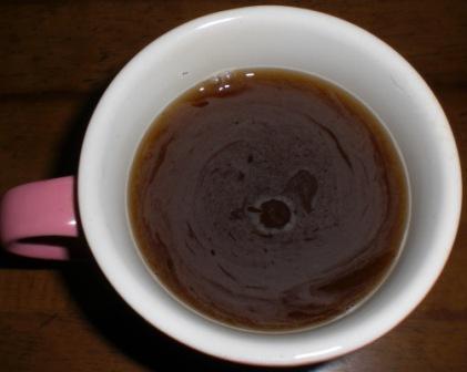 マレーシアのBOH紅茶のインスタントピーチティ