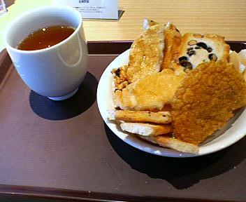 播磨屋カフェでおやつ
