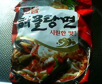 韓国海鮮ラーメン