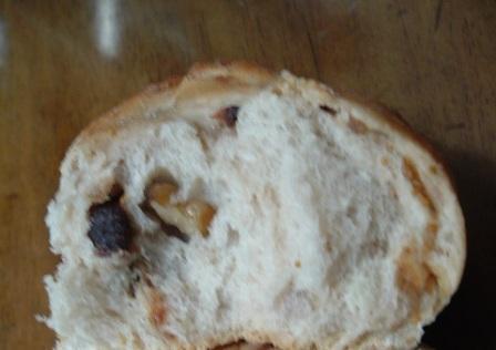 北欧のクルミイチジクパン
