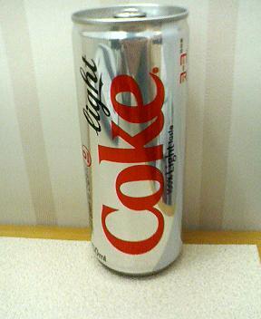 韓国のコカコーラライト