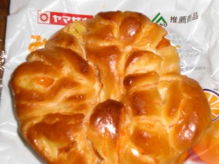 ヤマザキの三ケ日みかんパン