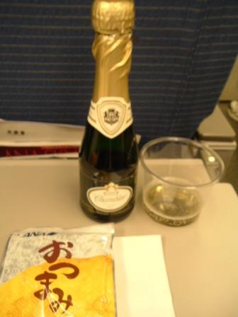 ANA成田発シンガポール行きエコノミークラス機内食