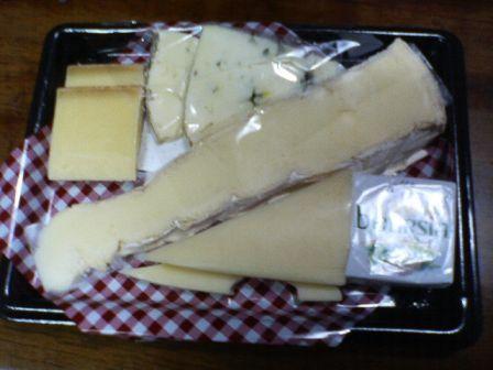 成城石井のチーズセット