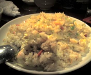 シーアンで刀削麺と中華料理