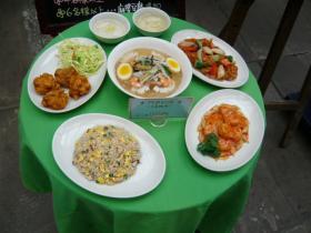 熊本「紅蘭亭の円卓料理」5