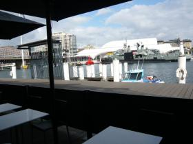 シドニー・ダーリングハーバーのカフェ2
