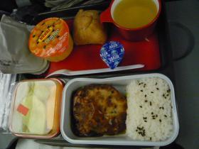 カンタス航空 シドニー→成田(朝食)2