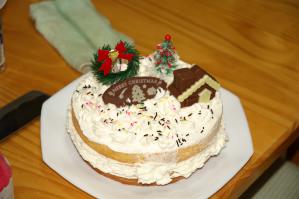 クリスマスケーキ2004
