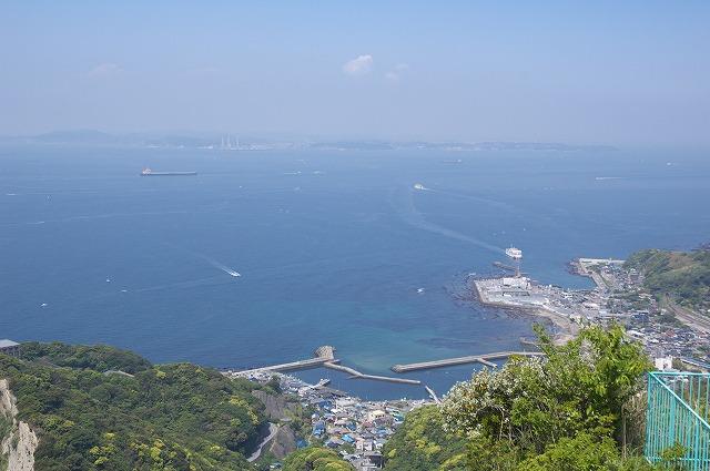 山頂駅付近からの眺望