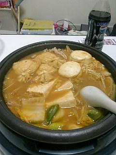 ひーチャンと鍋