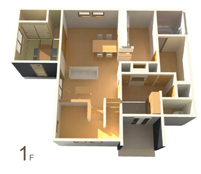 鳥瞰図1階