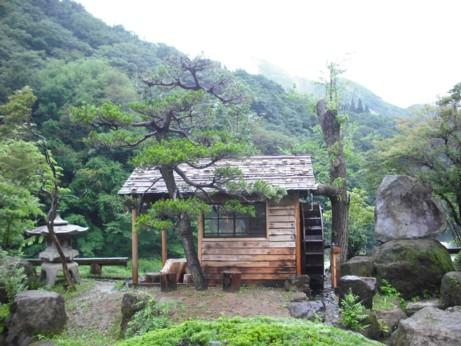 蕎麦うち水車小屋