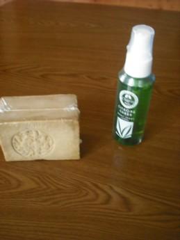アレッポの石鹸とハーブの虫除け
