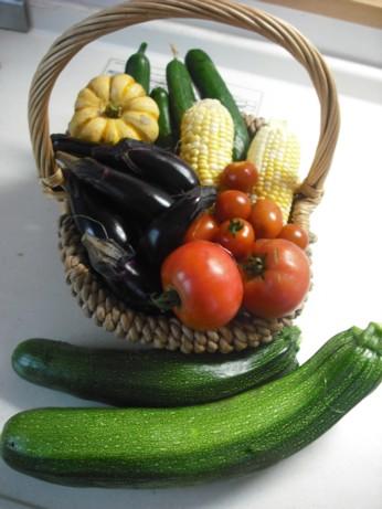 朝取り野菜