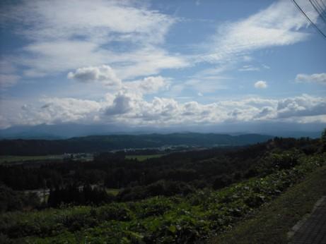 山の上の景色