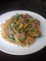 豚肉と水菜1