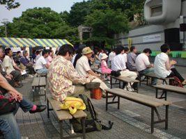 バングラフェス観客
