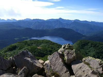 燧ヶ岳山頂1