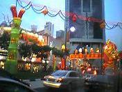 旧正月の街