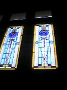 ウィーン館のステンドグラス