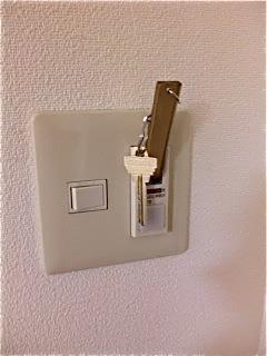 法華クラブ室内スイッチ