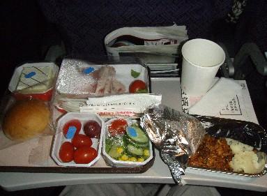 #39134;机餐