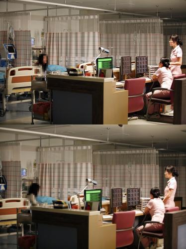ビニ入院する病院か?
