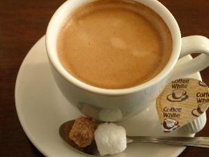 コーヒー@オロール・デ・ラ・ヴィ