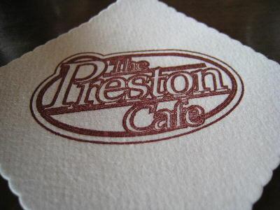 コースター@プレストンカフェ