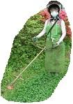 草刈りスタイル