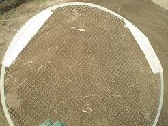ふるいの網