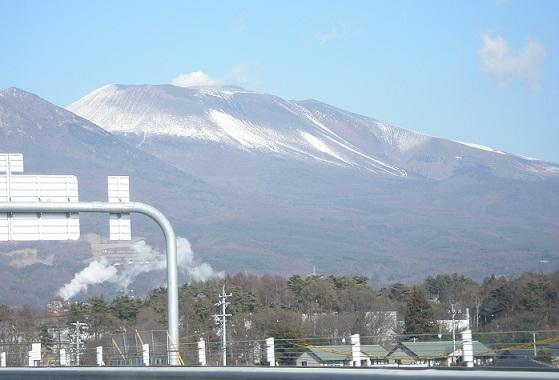 003新春浅間山