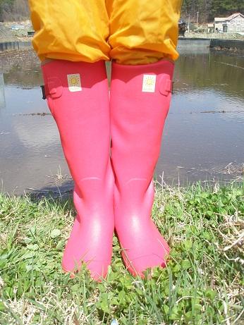 004田植え靴ピンク