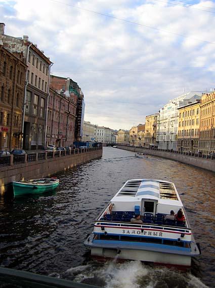 サンクトペテルスブルクの運河