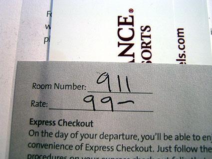 room number 911