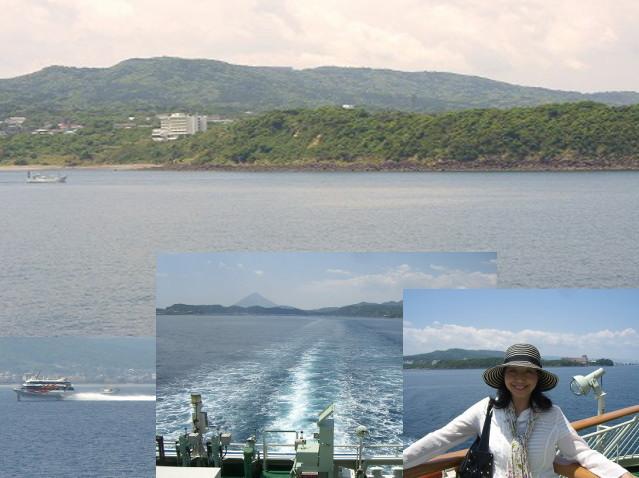 ホテルの目の前を船旅