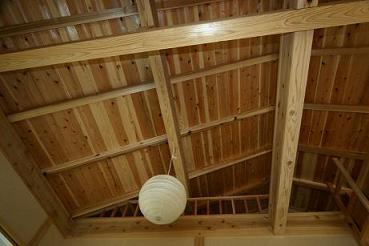 寝室天井1