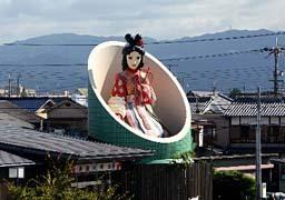 靴下の生産量日本一で知られる奈良県広陵町は、「かぐや姫の里」