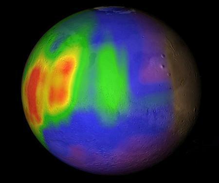 火星でメタンガスが噴出 生物起源の可能性も
