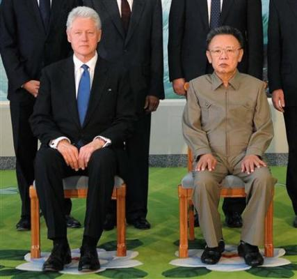 クリントン訪朝】拘束中の米記者2人に特別恩赦 北朝鮮メディア