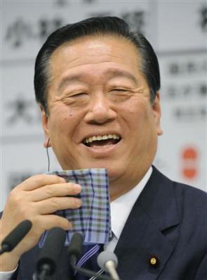 小沢氏の得票が制度導入後の最高に