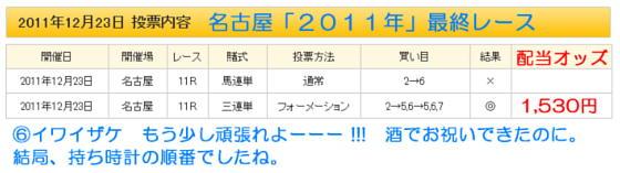 名古屋最終レース3