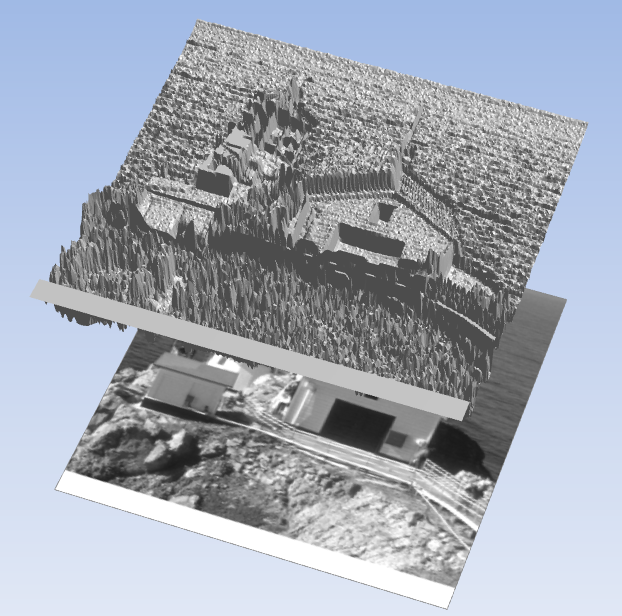 CSVファイル保存3D表示