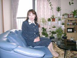 2010直美・母の家で直ちゃん